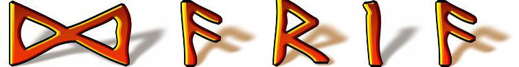 Daria w zapisie runicznym