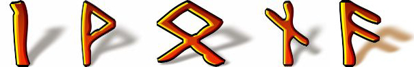 Iwona runiczny talizman imienny