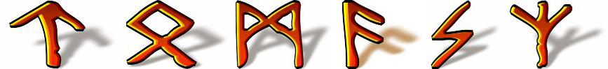 Tomasz imienny talizman runiczny